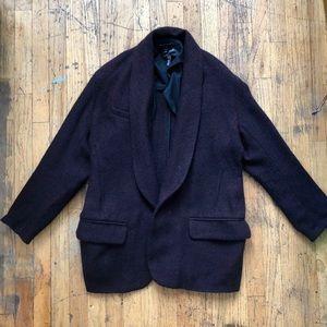 Oversized Tweed Blazer (Isabel Marant)